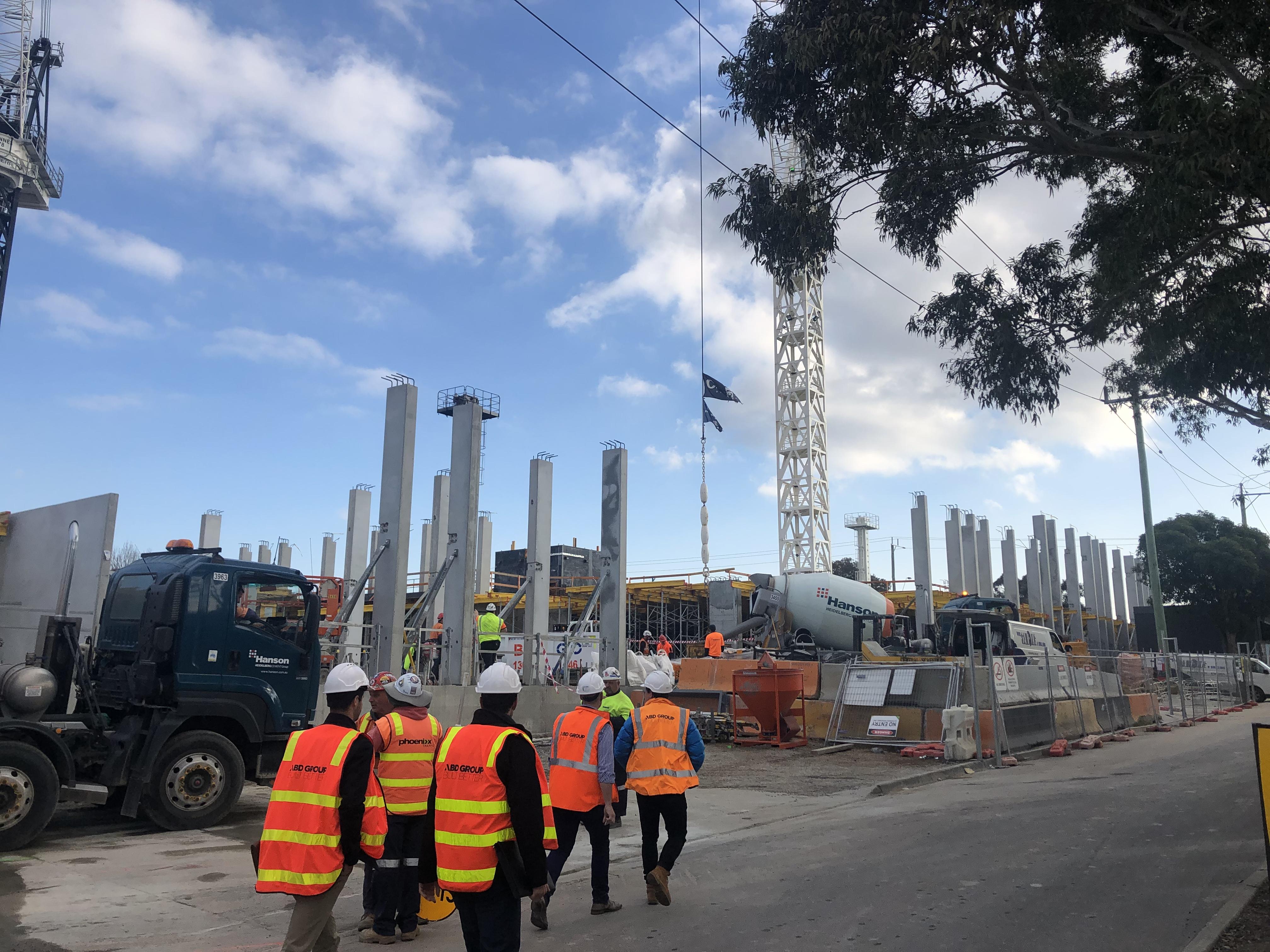 August Construction Progress